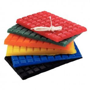 Lot de 6 tablettes de bougie à modeler d'environ 175 grammes chacune, teintes vives assorties