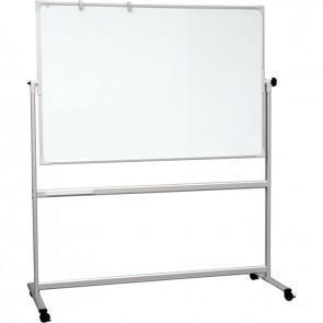 Tableau blanc émaillé rotatif 2 faces 90x120cm