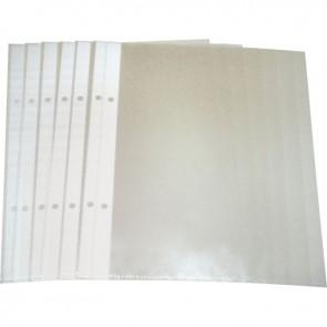 Paquet de 25 pochettes perforées en polypropylène 5/100ème format 17 x 22 cm