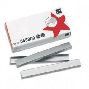 Agrafes N°10 acier par  boite de 1000  ; standard très répandu pour toutes agrafeuse utilisant le numéro 10