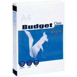 Ramette de 500 feuilles de papier blanc 80g de format A4 BUDGET