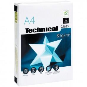Ramette de 500 feuilles de papier blanc 80g de format A4 TECHNICAL