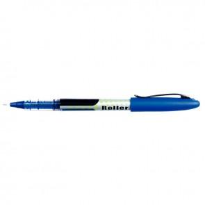 Roller pointe aiguille 0,5 mm bleu