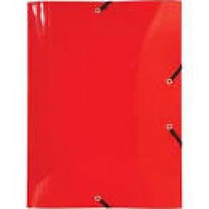 Chemise à élastique 3 rabats Polypropylène 5/10e Crystal Colours