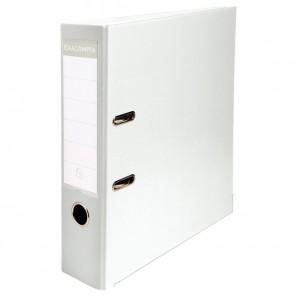 Classeur à levier pour format 21x29,7 cm dos extra large : 80 mm blanc