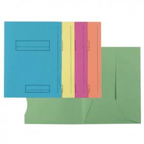 Paquet de 50 chemises imprimées 210g avec 2 rabats, format 24x32 cm
