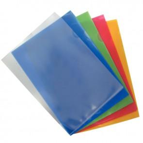 Boîte de 100 pochettes coin polypropylène 14/100ème incolore