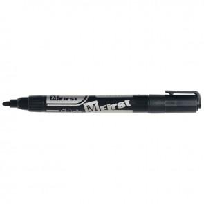 Marqueur permanent indélébile universel First  pointe ogive 1 à 3mm noir
