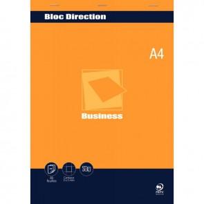 Bloc direction 80 feuilles 70g format A4 quadrillé 5x5