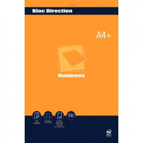 Bloc direction 80 feuilles 70g format A4+ quadrillé 5x5
