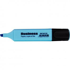Surligneur large bleu