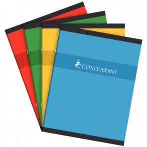 Cahier de devoirs normalisé séyès piqûre 60 pages format 17x22 cm