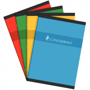 Cahier de devoirs normalisé séyès, piqûre 96 pages, format 21 x 29,7 cm