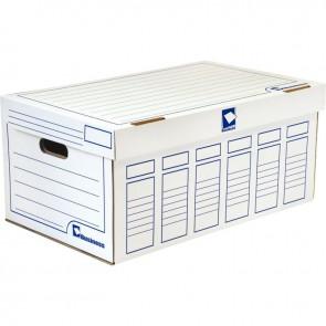 Paquet de 5 containers de boîtes à archives avec couvercle
