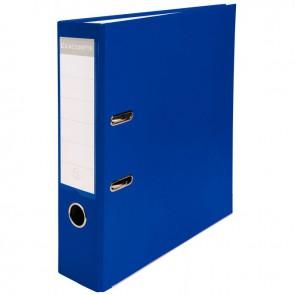 Classeur à levier pour format 21x29,7 cm dos extra large : 80 mm bleu