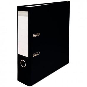 Classeur à levier pour format 21x29,7 cm dos extra large : 80 mm noir