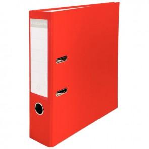 Classeur à levier pour format 21x29,7 cm dos extra large : 80 mm rouge