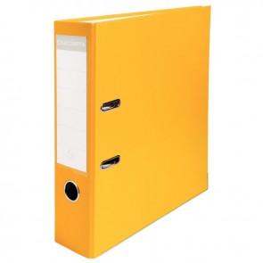 Classeur à levier pour format 21x29,7 cm dos extra large : 80 mm jaune