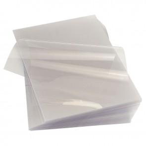 Paquet de 100 couvertures Cristal incolores, épaisseur 20 / 100e. format : 21x29,7 cm