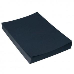 Paquet de 100 couvertures grain cuir, format 21x29,7 cm  noir
