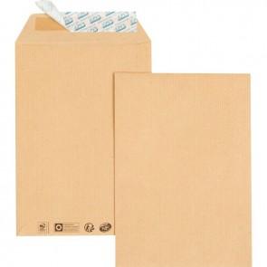 Paquet de 25 pochettes kraft 260x330 90g/m² bande de protection