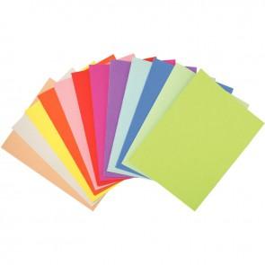 Paquet de 100 chemises 170g FOREVER 180 format 24x32 cm coloris assortis