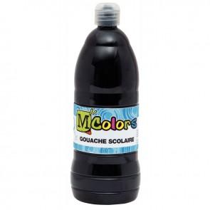 Flacon de 1 Litre de gouache liquide noir