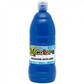 Flacon de 1 Litre de gouache liquide bleu outremer
