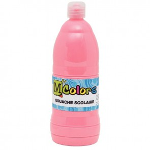 Flacon de 1 L de gouache liquide rose