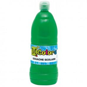 Flacon de 1 Litre de gouache liquide vert