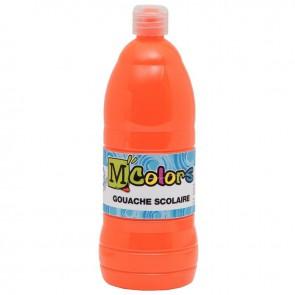 Flacon de 1 Litre de gouache liquide orange