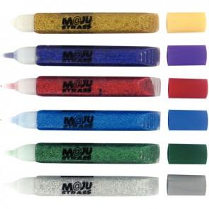 Blister de 6 tubes gel paillettes 9,5 ml couleurs assorties