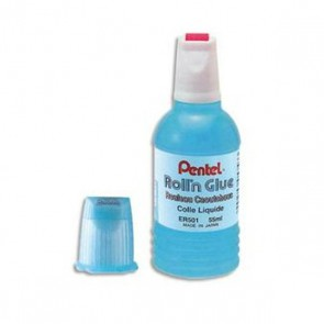 Bidon de colle 300 ml pour la recharge de flacons de 30 ml de glue Pentel roll'n