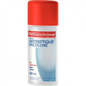 Spray au Mercurochrome incolore 100ml