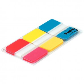 Carte de 66 index rigide standard 25,4 x 38 mm coloris vifs assortis