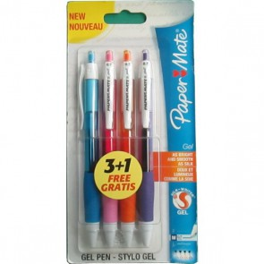 lot de stylos gel papermate
