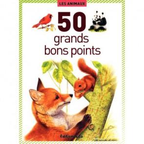 Boite de 50 grandes images Les animaux