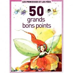 Boite de 50 grandes images Les Princesses et les Fées