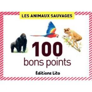 Boite de 100 images Les animaux sauvages