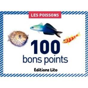 Boite de 100 images Les poissons