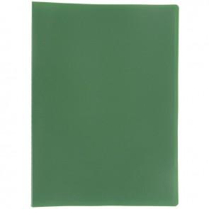 Protège documents couverture souple en polypropylène 20 vues vert