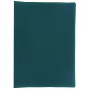 Protège documents couverture souple en polypropylène 40 vues vert