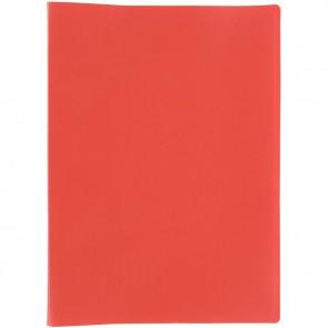 Protège-documents couverture souple en polypropylène 60 vues rouge
