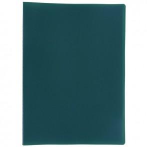 Protège-documents couverture souple en polypropylène 60 vues vert