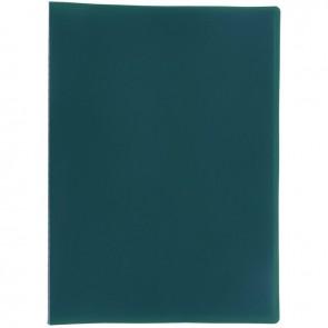Protège documents couverture souple en polypropylène 80 vues vert