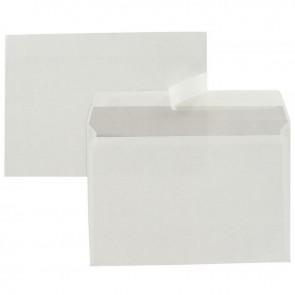 Boîte de 500 enveloppes blanches C5 162x229 80g/m² bande de protection