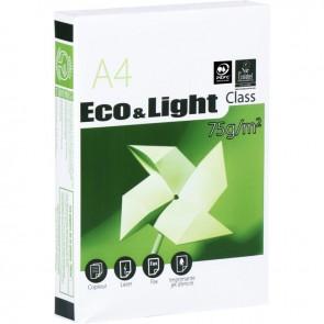 Ramette de 500 feuilles de papier blanc 75g de format A4 ECO&LIGHT