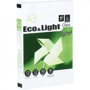 Rame de 500 feuilles de papier blanc 75g de format A3 ECO&LIGHT