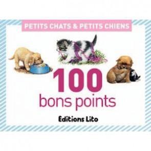 Boite de 100 images Petits chats et petits chiens