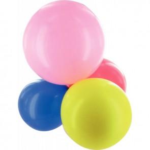 Sachet de 100 ballons de baudruche géants couleurs assortis